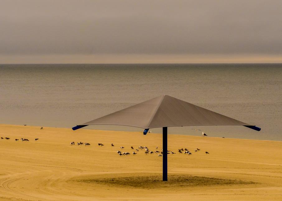 Yarmouth Beach Umbrella, Cape Cod Photography Art | Ben Asen Photography