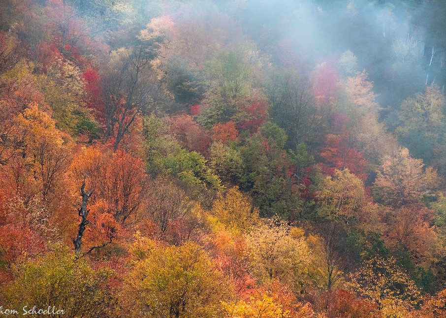 Adirondack Mountain Fall Foliage Fine Art Luxury nature Photography prints for sale   Thom Schoeller