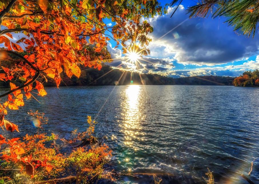 """Sunset Over Lake Williams"" Photography Art | Inspired Imagez"