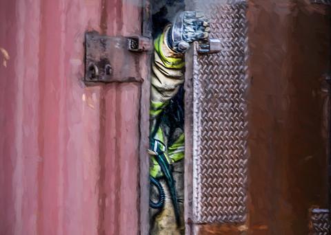 Door Control Art | DanSun Photo Art