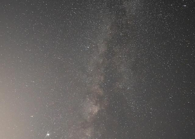 Milky Way Above The Ridge 2 Photography Art   Sydney Croasmun Photography