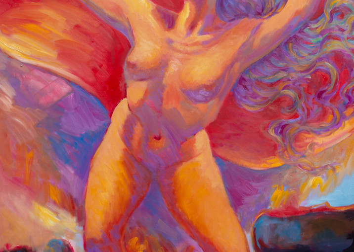 Isa Maria Art Magic - oil paintings and prints - portraits of Hawaii goddesses and mermaids - Freedom