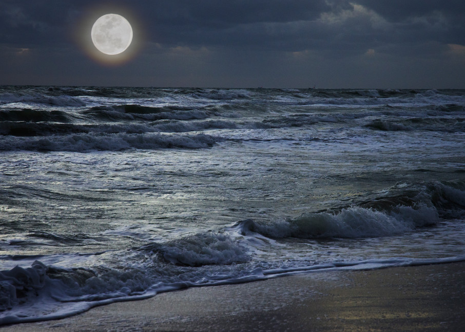 Once In A Blue Moon Art | karenihirsch