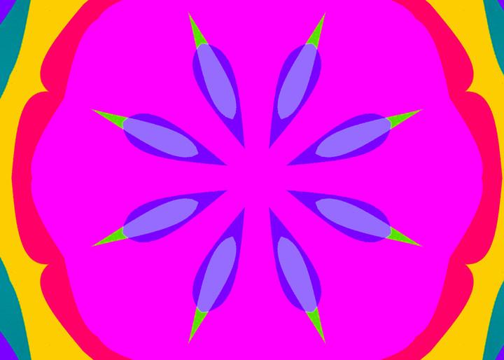 Watermelon Flower Art | karenihirsch