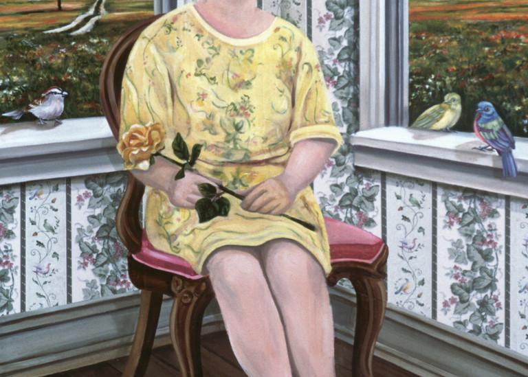 Lady Birdland Art | Channe Felton Fine Art