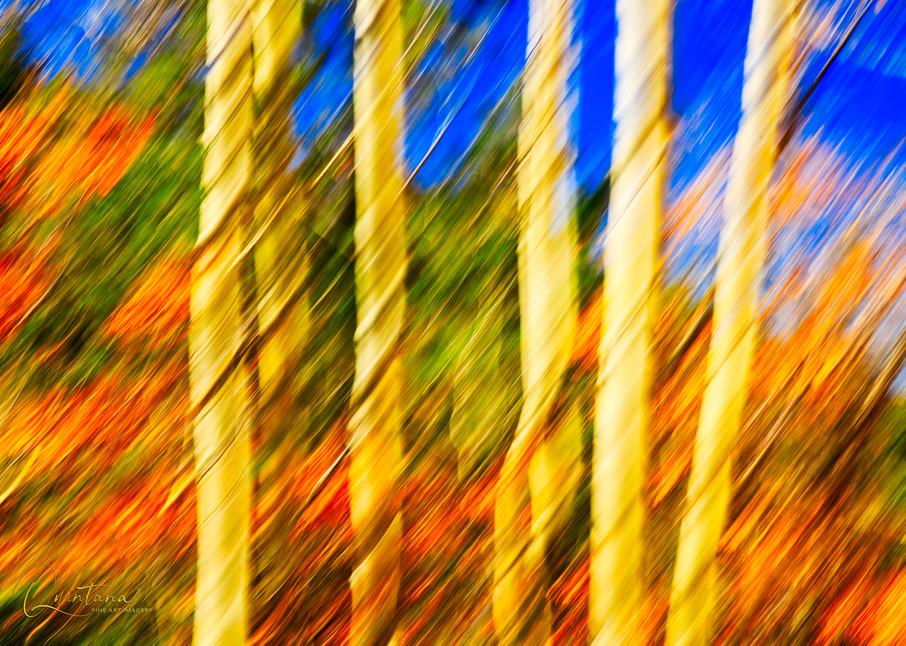 Autumn Splash - A Fine Art Photograph by Marcos R. Quintana