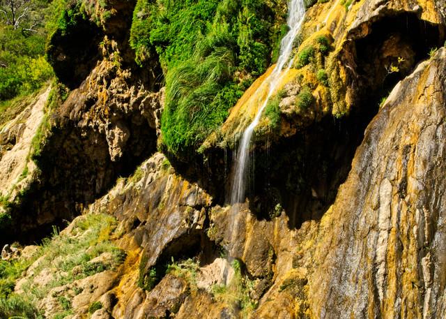 Sitting Bull Falls - A Fine Art Photograph by Marcos R. Quintana