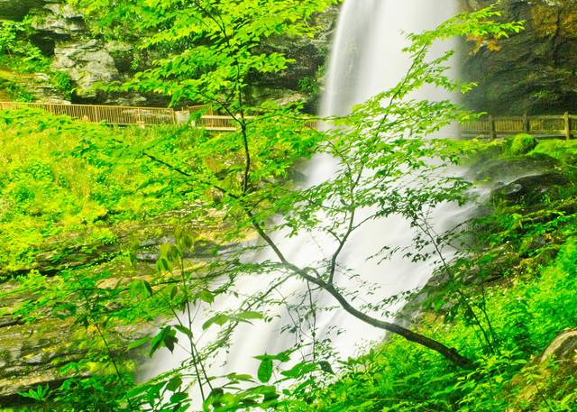 Dry Falls I - A Fine Art Photograph by Marcos R. Quintana