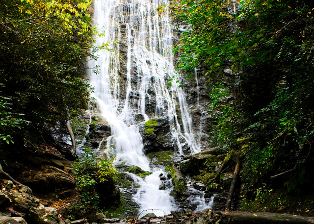 Mingo Falls I - A Fine Art Photograph by Marcos R. Quintana