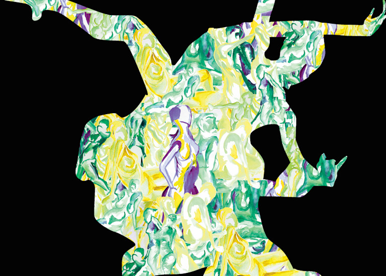 Moving Reality | Persona: A Figurative Series | Digital Art