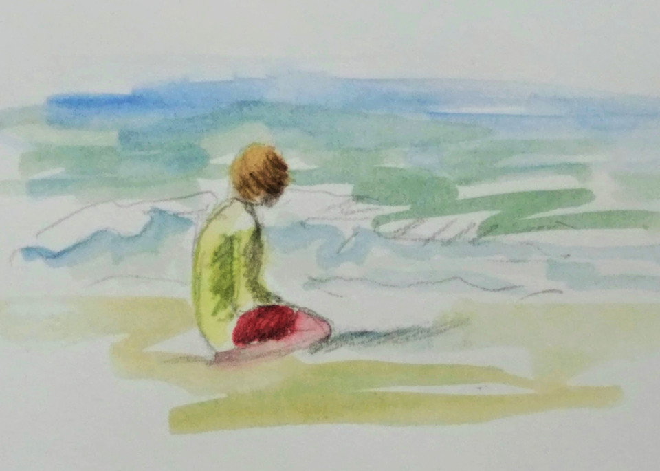 Deep In Thought  Art | Sharon Guy
