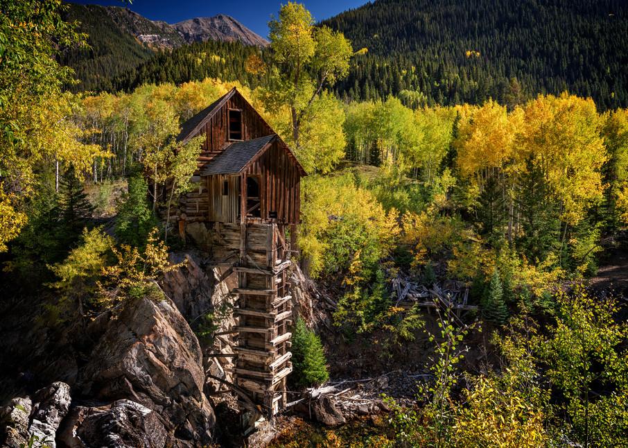 Crystal Mill | Shop Photography by Rick Berk