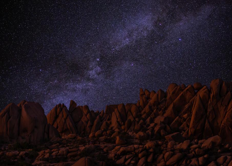 Desert Starglow Photography Art | Josh Kimball Photography