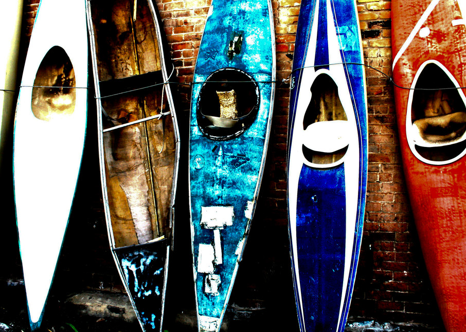 Old Kayak Fine Art Photography