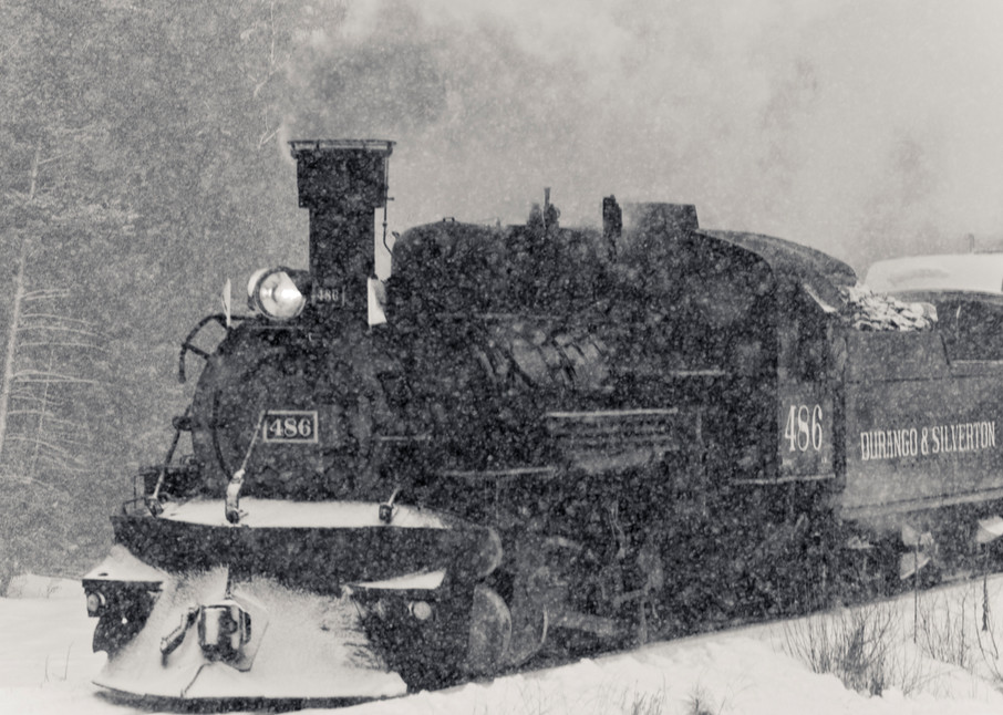 Steel, Steam and Snow
