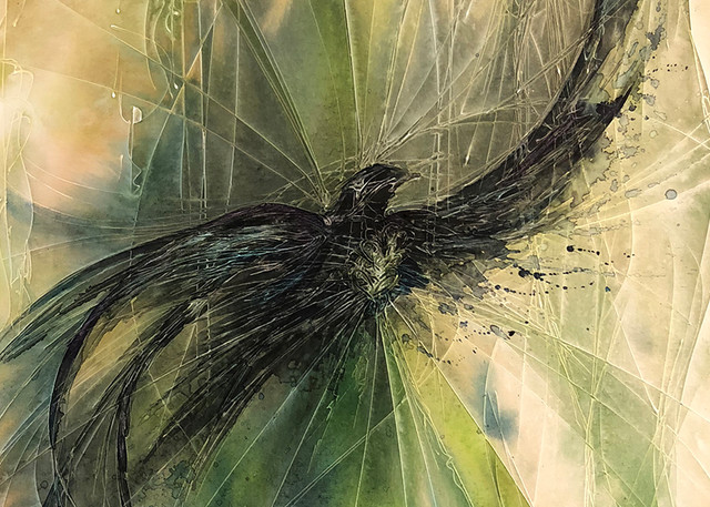 Spirit Of The Black Bird Art | Christy! Studios