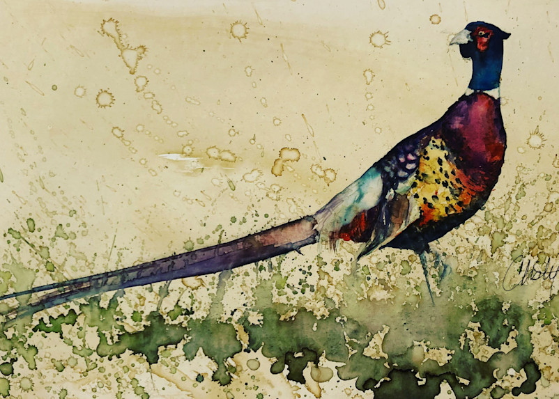 Pheasant Stand Art | Christy! Studios