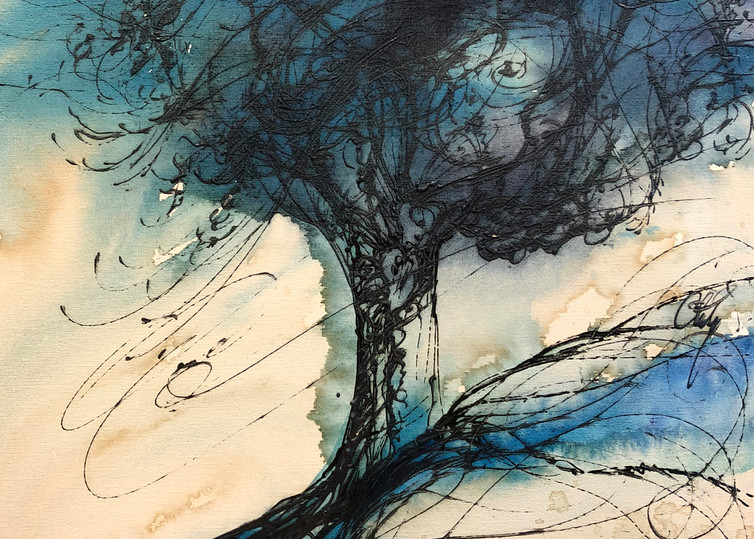 Thalo Tree Art | Christy! Studios