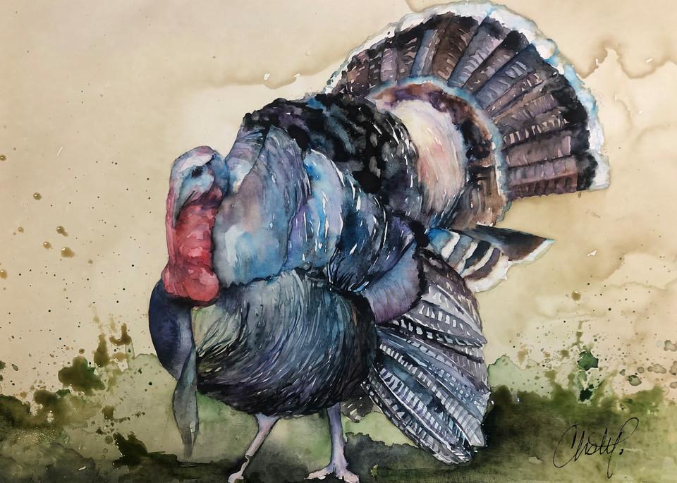 Wild Turkey Art | Christy! Studios