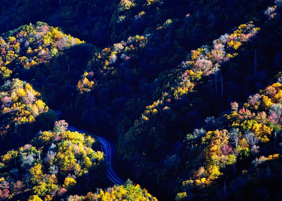 Autumn Drive - Great Smoky Mountains National Park fine-art photography prints