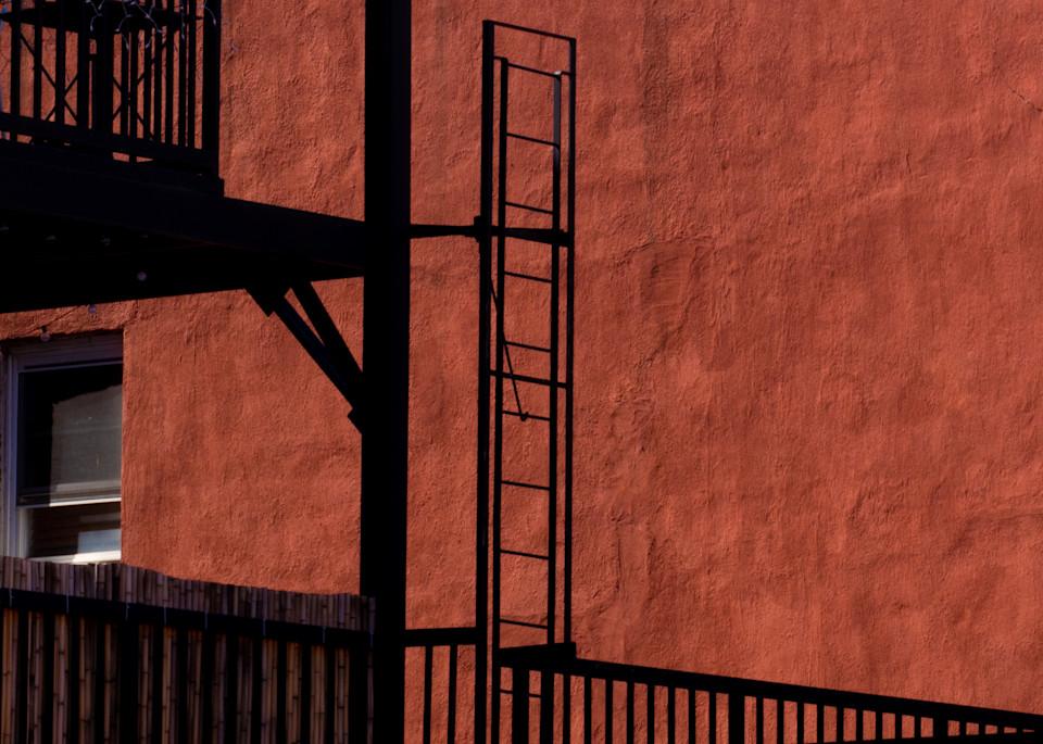 Burnt Orange Cobble Hill Wall, Nyc  Photography Art | Ben Asen Photography