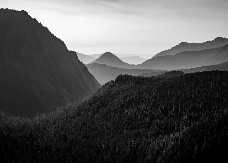 Ridges, Mt. Rainier National Park, Washington, 2020