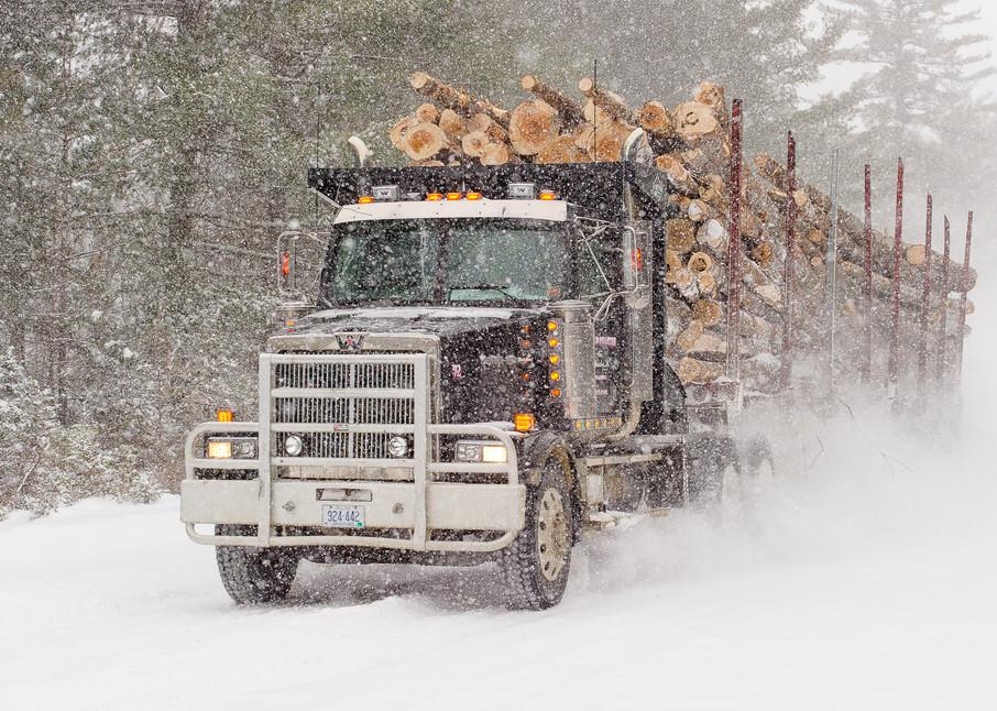 Haulin in the Snow