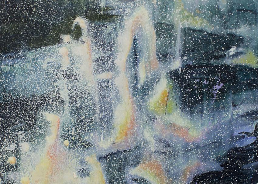Fire, Water, Ice And Snow Art | Jono Wright Art