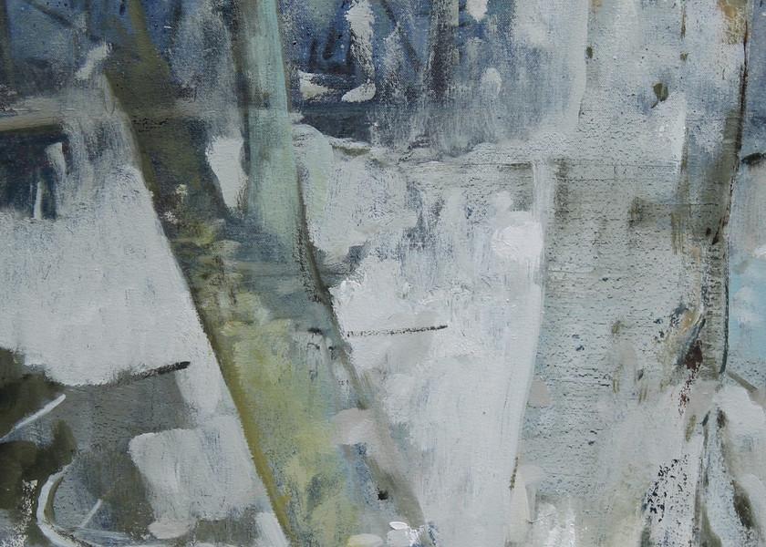 Snowy Trees Art | Jono Wright Art
