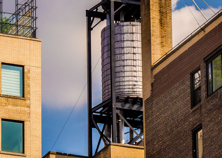 Piggyback Water Towers, Nyc Photography Art | Ben Asen Photography