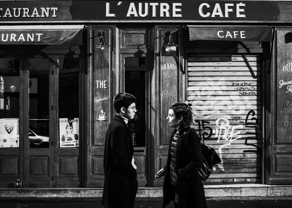L'autre. (Un couple qui se défait, Paris, décembre 2017)