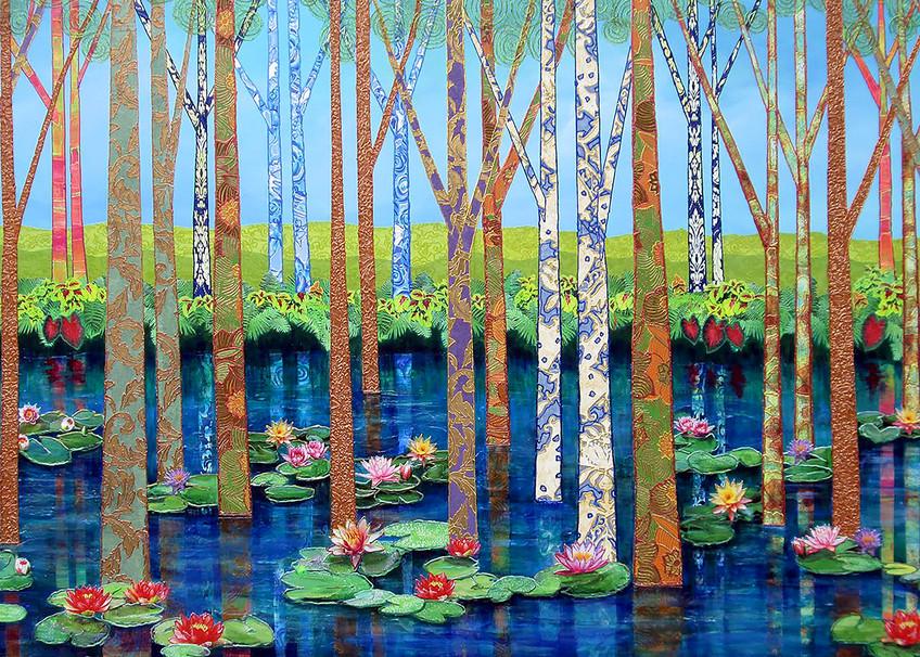 Caddo Lake  Art   Channe Felton Fine Art