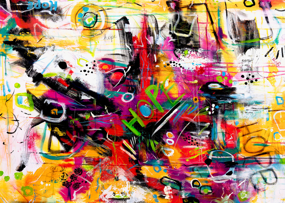Hope In The Midst Of Chaos Art   Courtney Einhorn