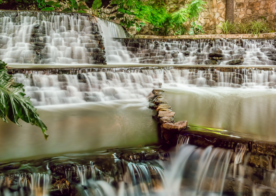 Riverwalk Waterfall 2 Photography Art | Grace Fine Art Photography by Beth Sheridan