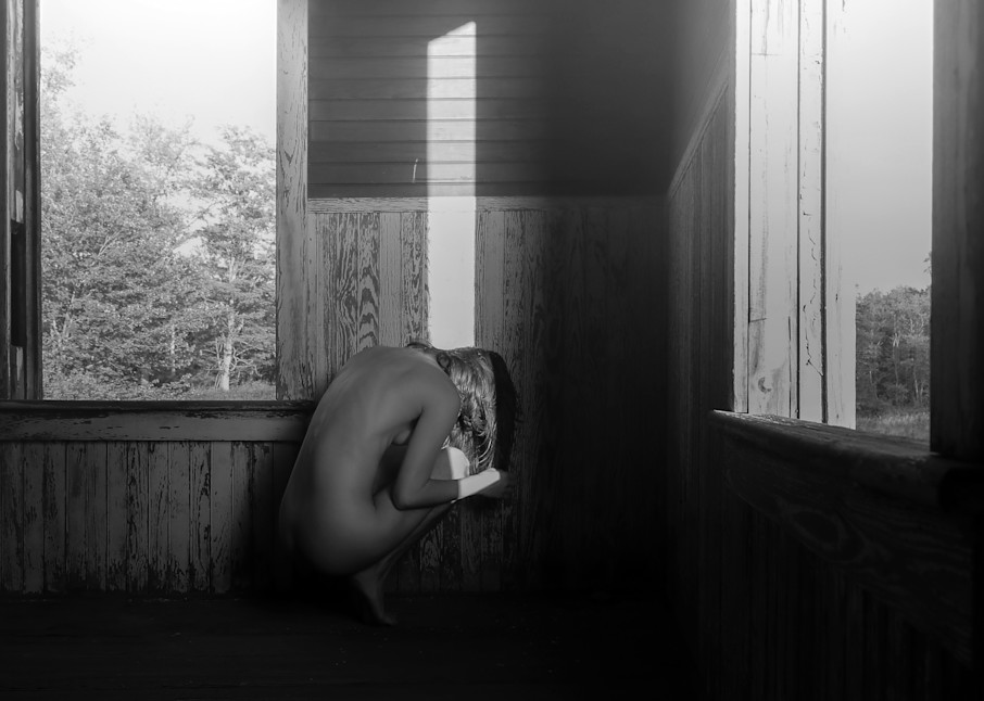 When I Don't Want To Be Found B/W Photography Art | LenaDi Photography LLC