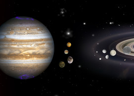 Solar System Banner Or Prints Art   Art from the Soul