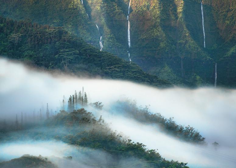 Namolokama Mountain Fog Photography Art | Ed Sancious - Stillness In Change