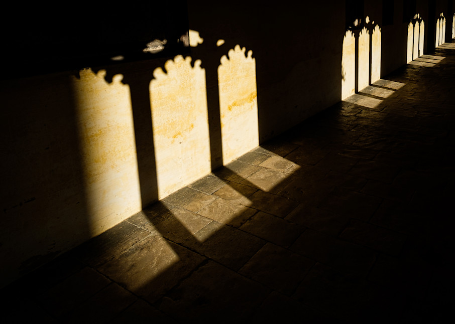 Magdalen College Cloister, Oxford