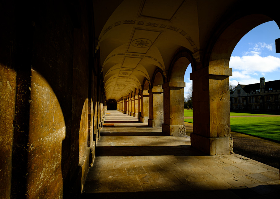The New Building, Magdalen College Oxford