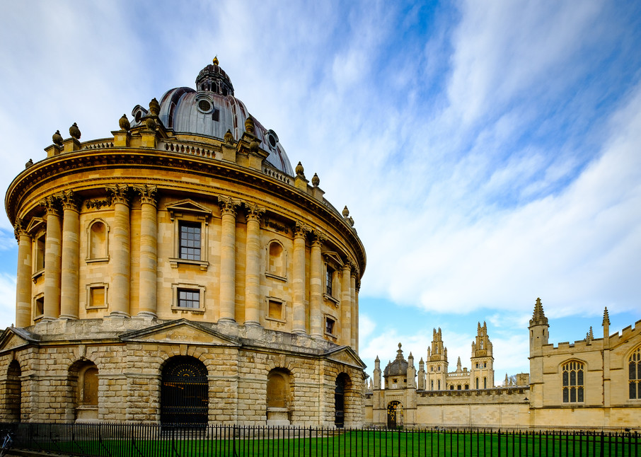 The Radcliffe Camera and All Souls College, Oxford