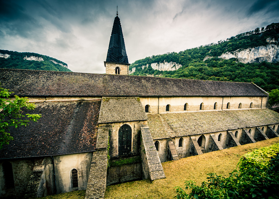 Monastery at Baume Les Messieurs, France