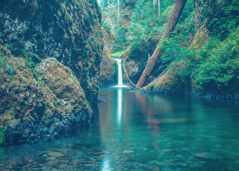 Extinct Water Fall Photography Art | Austin Marvel