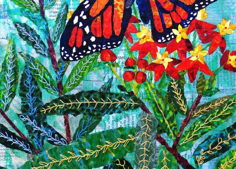 Xena: Warrior Monarch Butterfly Art | Poppyfish Studio