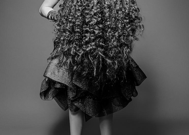 Cousin It Bw Photography Art | LenaDi Photography LLC