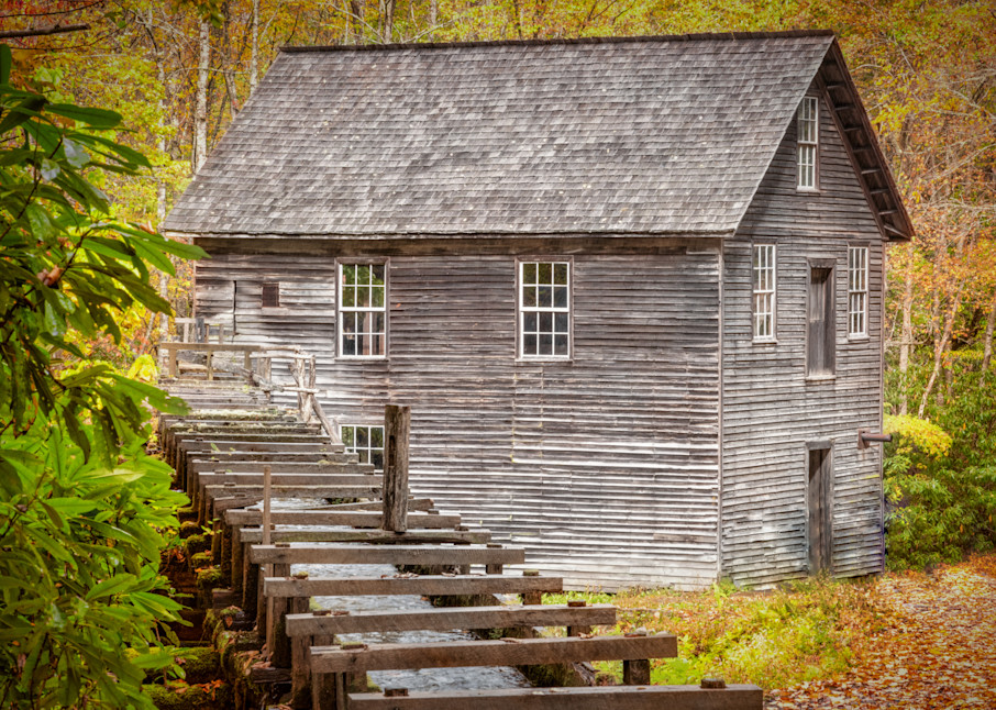 Mill In Autumn Photography Art   Grace Fine Art Photography by Beth Sheridan