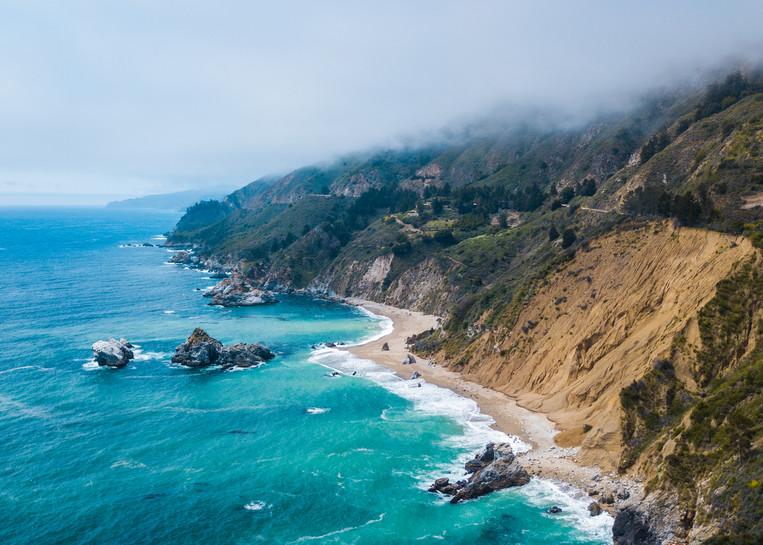 Pacific Coastal Highway Photography Art | Austin Marvel