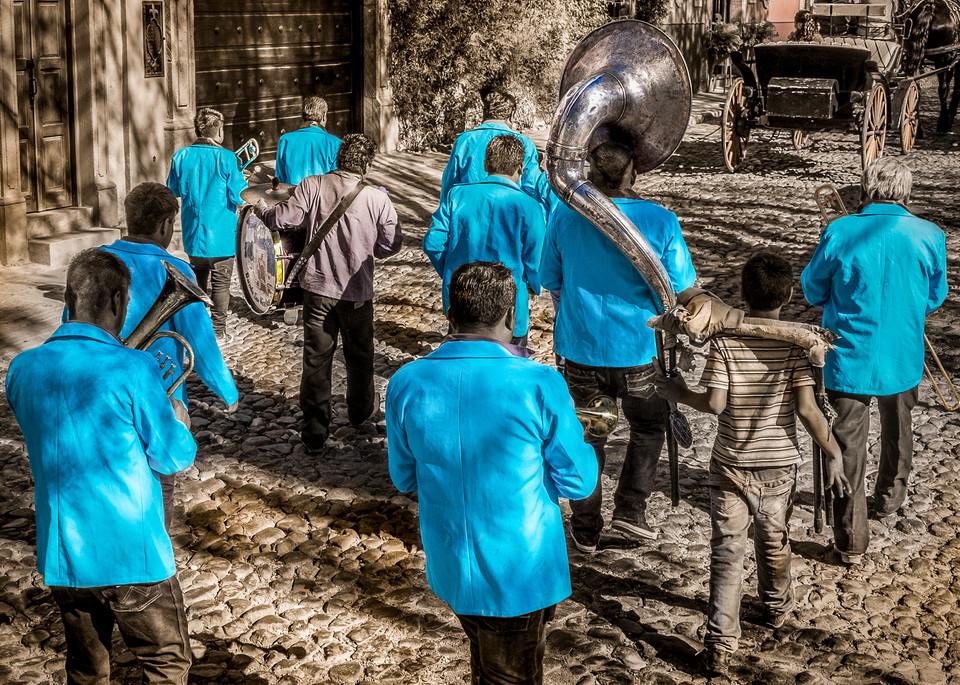 Banda Azul Photography Art | Harry John Kerker Photo Artist