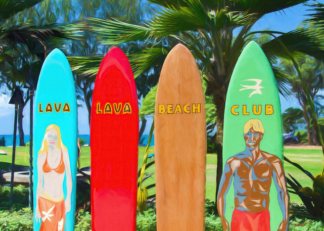 Lava Lava Beach Club Photography Art   Greg Starnes Phtography