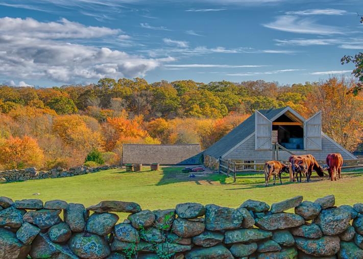 Brookside Farm Fall Art | Michael Blanchard Inspirational Photography - Crossroads Gallery