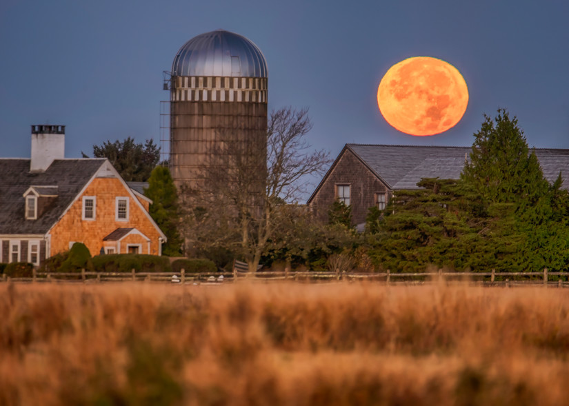 Herring Creek Farm Halloween 2020 Full Moon Art | Michael Blanchard Inspirational Photography - Crossroads Gallery